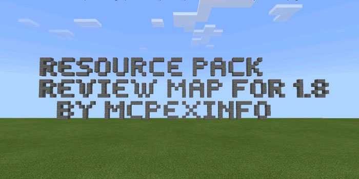 Map Resource Pack Review 1.8