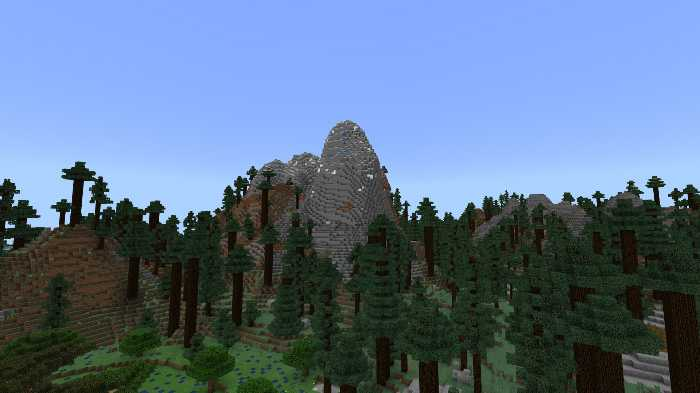 Download map The Mundane Mountain for Minecraft Bedrock Edition 1.7 for Android