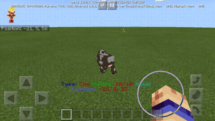 Download addon Mob Indicator for Minecraft Bedrock Edition 1.9 for Android