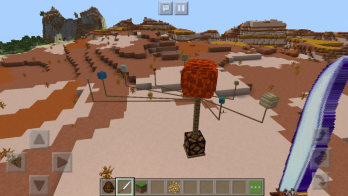 Download addon Solar System Model for Minecraft Bedrock Edition 1.10 for Android