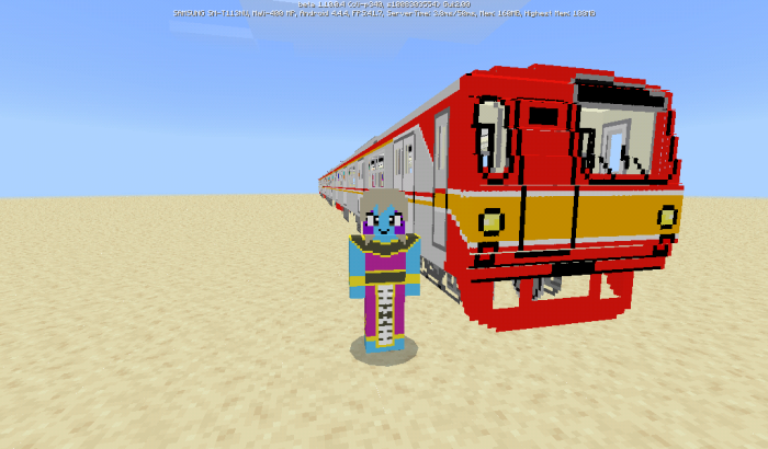 Download addon Tokyo Metro 6000 Series for Minecraft Bedrock Edition 1.10 for Android