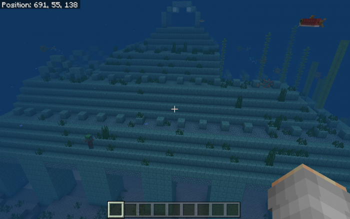 Seed Ocean Ruin Right At Spawn 1.11
