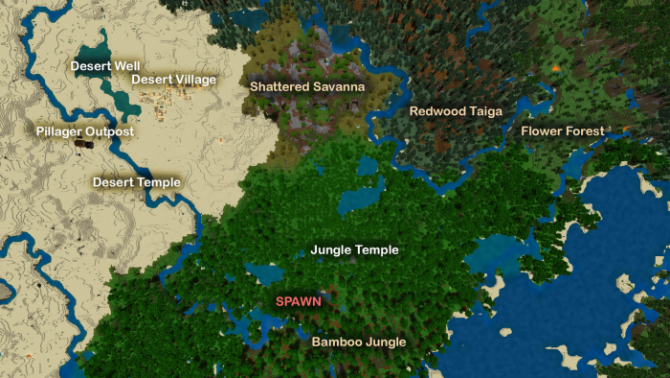 Seed Bamboo Jungle Spawn 1.11
