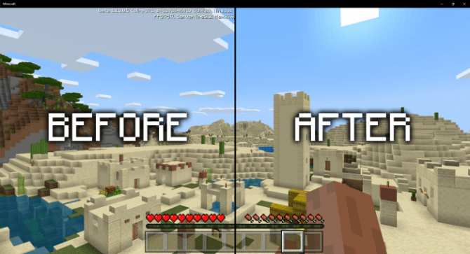 Download Texture Pack Beta Begone for Minecraft Bedrock Edition 1.13 for Android