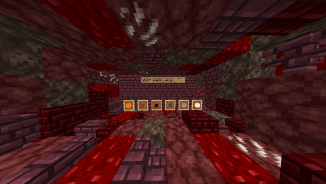 Map Nether PVE Dungeon Crawler 1.14